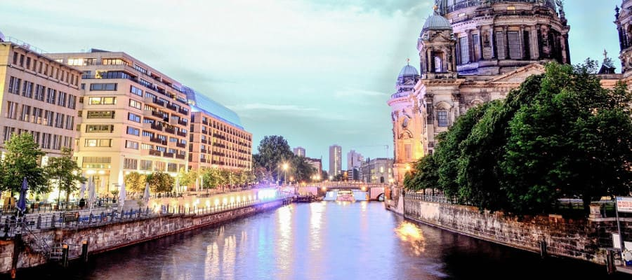 Реки Германии на немецком языке