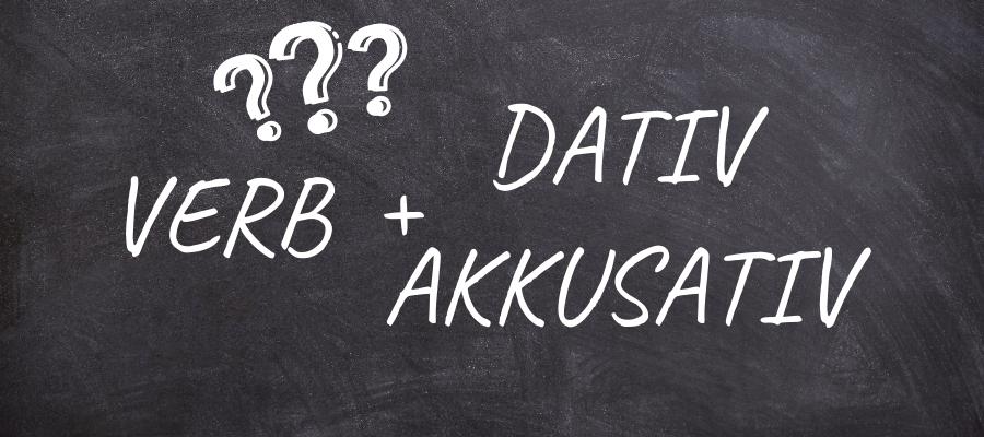 Глаголы с двумя дополнениями в немецком языке